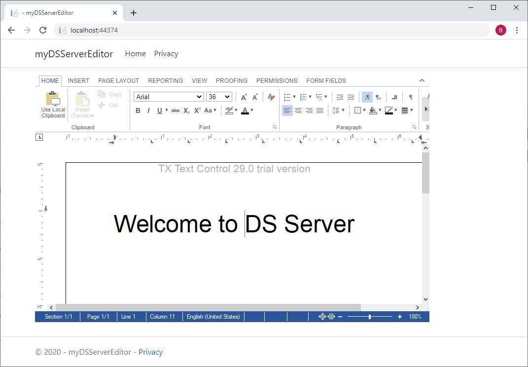 DS Server Setup